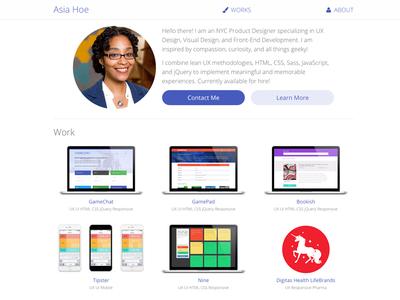 Portfolio Launch personal branding responsive jekyll ui ux portfolio