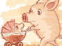 Pig And Perambulator