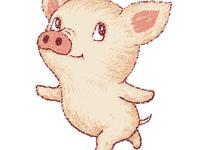 Cute Pig Dancing