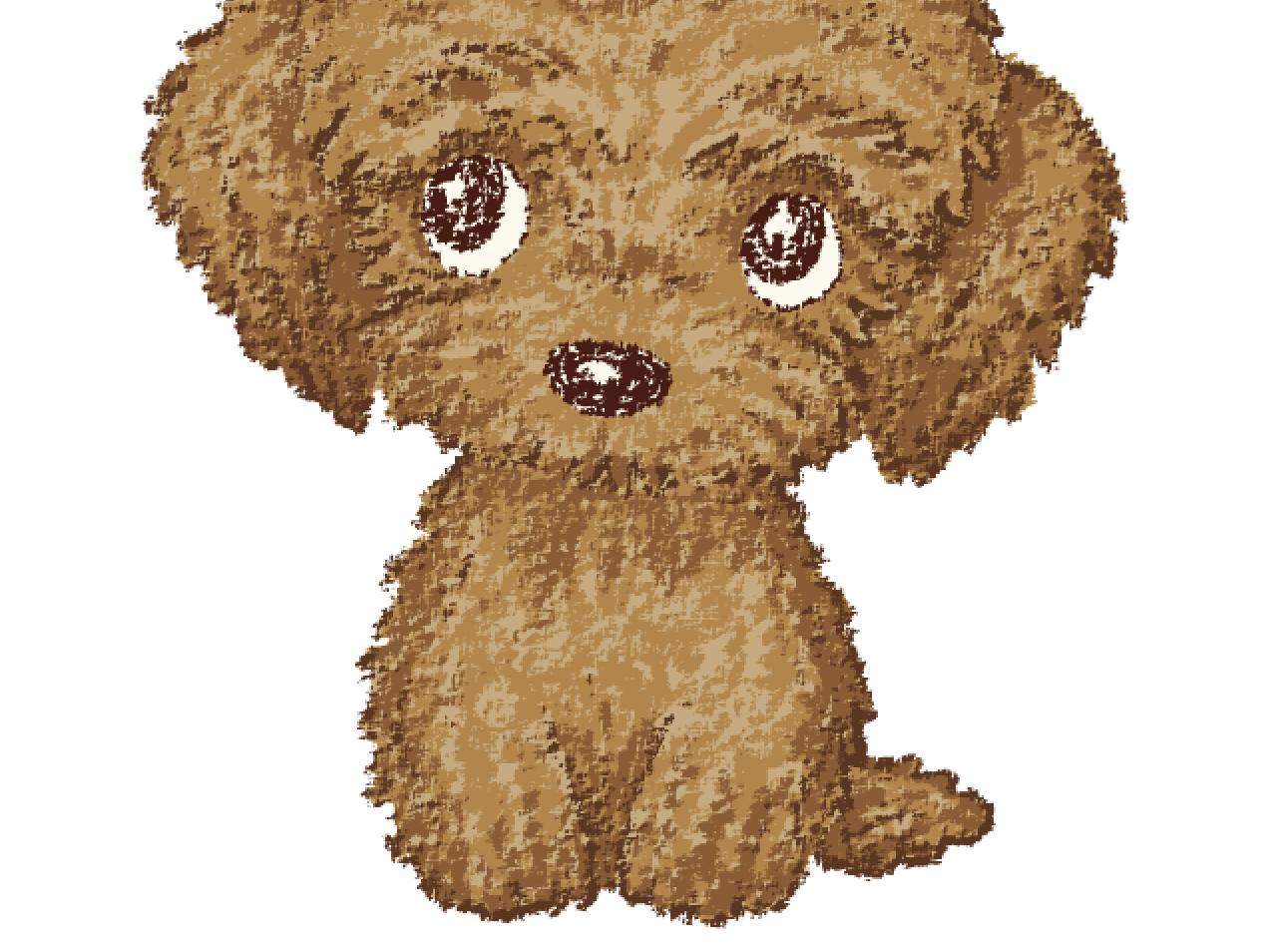 Toy-Poodle character animal.canine puppy dog pet animal illustration characters vector