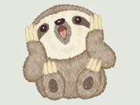 Surprised Sloth