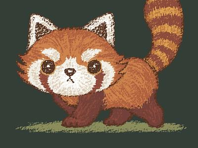 2019 11 20 16 35 54 red panda panda pet animal illustration characters vector