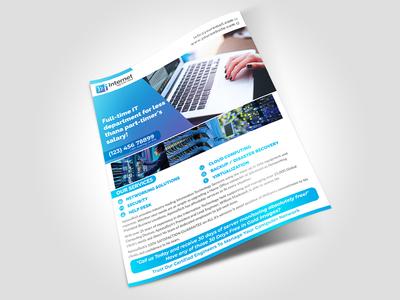 IT Service Flyer