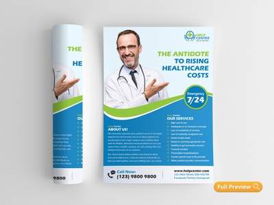 Medical & Healthcare Flyer