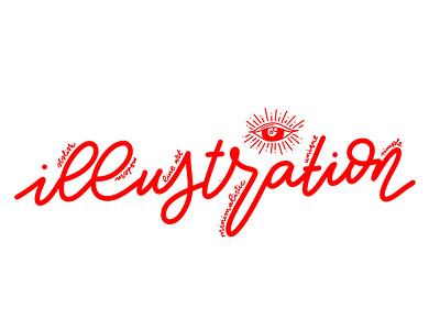 Header for Fiverr type branding illustrator design typography minimal lettering illustration