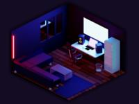 Isometric studio