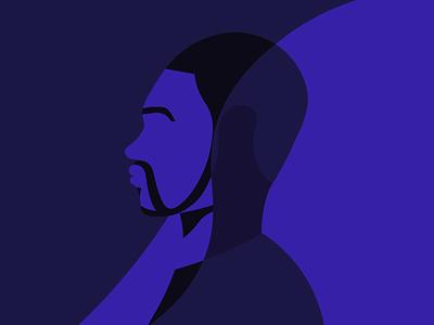BLM black lives matter minimal illustration digital art minimal illustration