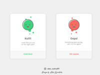 Daily UI Flash Messages by Alex