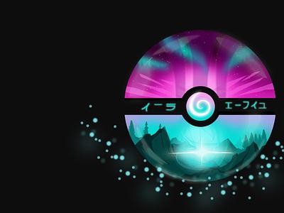 Pokemon ball series movie film unitedkingdom croatia bokeh fantasy landscape minimalistic flatart anime pokemon artwork illustration art ball
