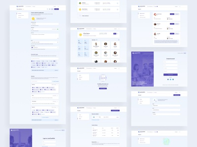 LetsChatWith — Organizers role intarface uidesign form webdesign web design minimal admin panel website design layout figma ux ux design ui design web ui interface design