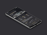 Classic Car Dealer UI Mobile App