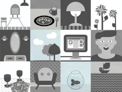 Simply grey life (Icons/Images)