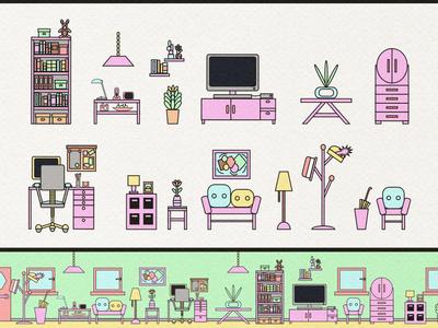 Furniture Icons 2