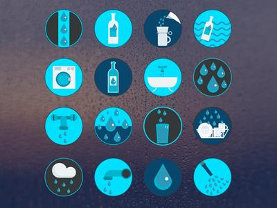 Wasser/Water Icons