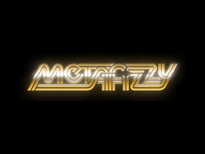 Solid Gold Metafizzy wordmark