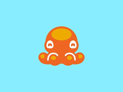 Octopus adorabilis cute logo