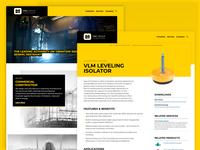 VMC Group Website Redesign website design
