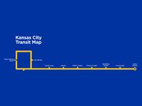 Kansas City Transit Map