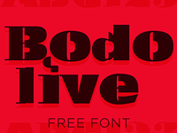 Bodolive Font