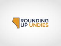 Rounding Up Undies concept