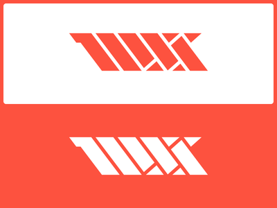 MSS Lettermark grid geometric angles lettermark abstract logo
