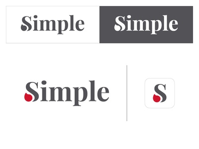 Simple Logo Concept 02 blood pressure logo simple