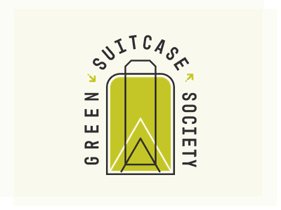 Green Suitcase Society logo logo