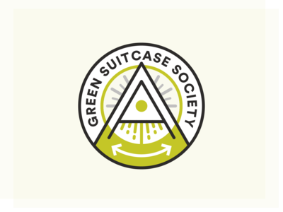 Green Suitcase Society - logo concept