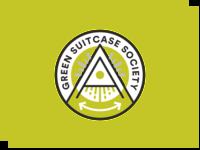 Green Suitcase Society - logo concept logo