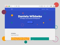 Personal Website Preview