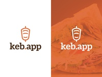 "Logo Idea for a ""döner kebab"" app"