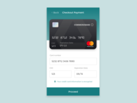 Day 2 - Credit Card Checkout - DailyUI