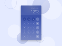 Day 4 - Calculator - DailyUI