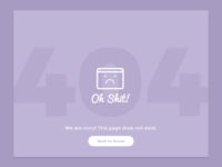 Day 8 - 404 page - DailyUI