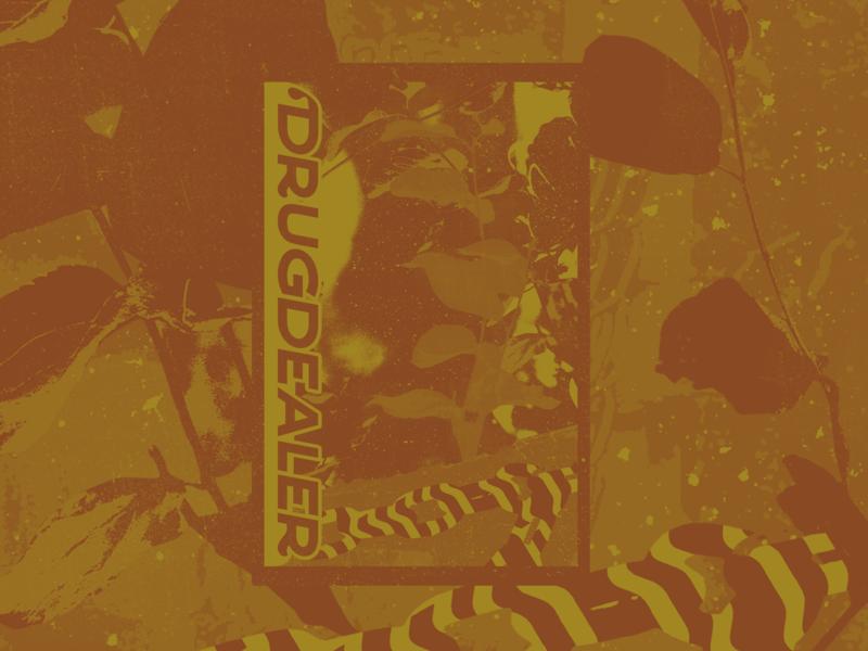 Drugdealer Poster music drugdealer gig poster poster design student work