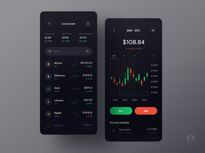 Exchange & portfolio tracker 🤑 invest crypto currency app bitcoin graph chart card finance trading app trade exchange crypto exchange crypto wallet cryptocurrency wallet crypto