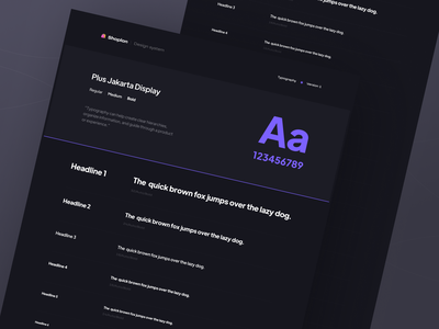 Pre-order time  🛍  Shoplon Style-guide (Typography) ui market illustration minimal dark typography font color style guide design system discount sale store branding art map shopping online shop e-commerce bondle