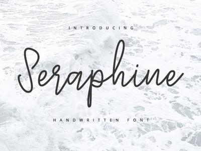 Seraphine - Handwritten Font