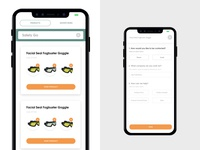 Health & Safety Products - App Design
