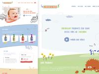 Peekaboo - Homepage (Pitch Concept)