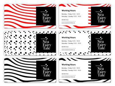 """Sea Fairy Tale"" Brand Identity pattern print graphic logotype logo branding brand"