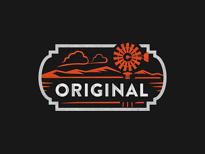 OG badge branding illustration stamp