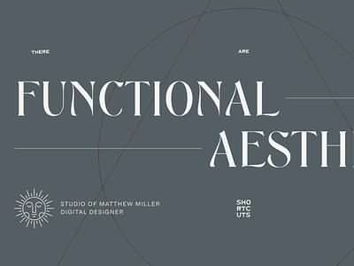Personal Portfolio symbols typography portfolio personal