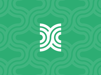 Monogram Pattern monogram cc thick lines pattern