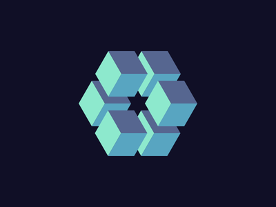 003 — Color and Shape daily cube pattern block