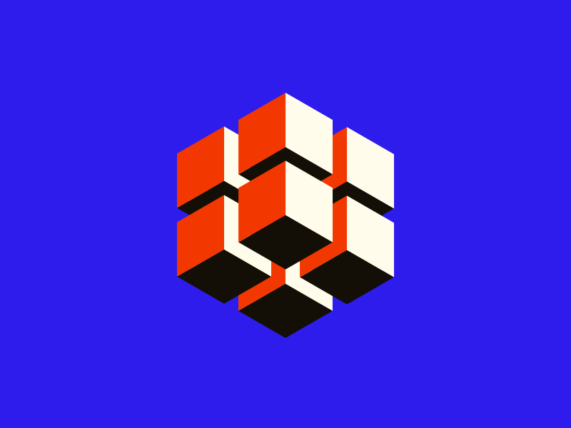 005 — Color and Shape swiss 3d cube block