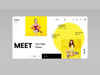 How to Design Fashion Shopping Website | Adobe Xd
