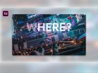 Motivational Website | Adobe xd