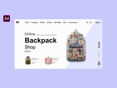 Backpack Online Shopping