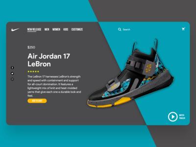 Nike LeBron Sport Shoes